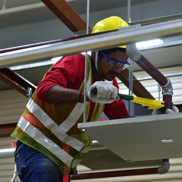 CoreTrade Tradesman in Fire Sprinkler Installation